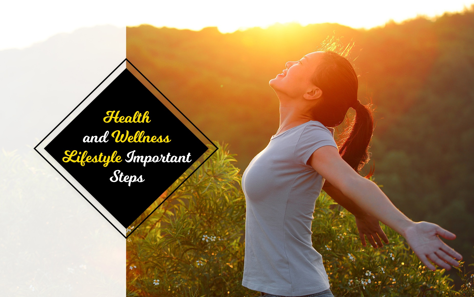 Health and wellness lifestyle necessary Steps