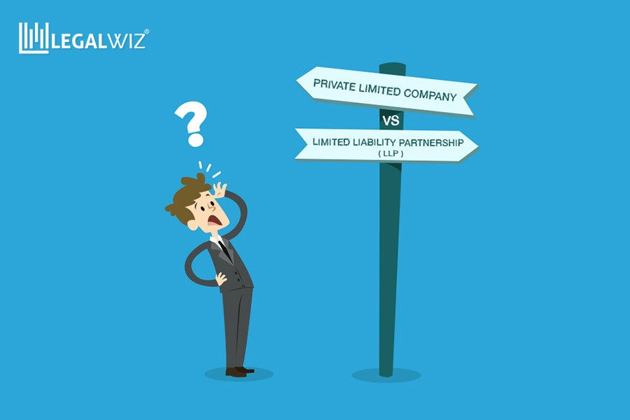 5 points of difference between a private limited company and an LLP