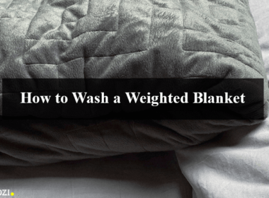 Wash a Weighted Blanket