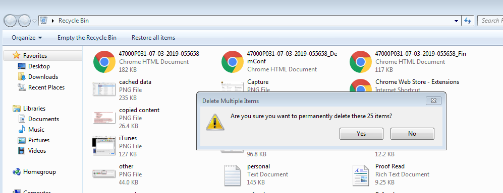 free up disk space