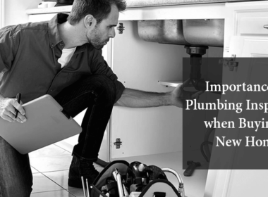 Plumbing inspection when buying a new home