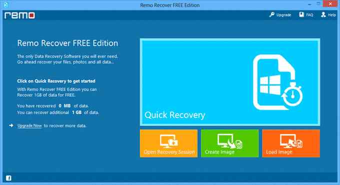 Remo Recover Free Edition